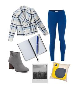 """Azul invernal"" by alex-groma on Polyvore featuring moda, White Stuff, BLUE NOTCH, Orla Kiely, Smythson y Meggie"