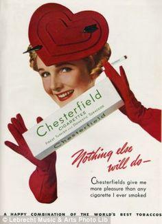vintage christmas cigarette ads - Google Search