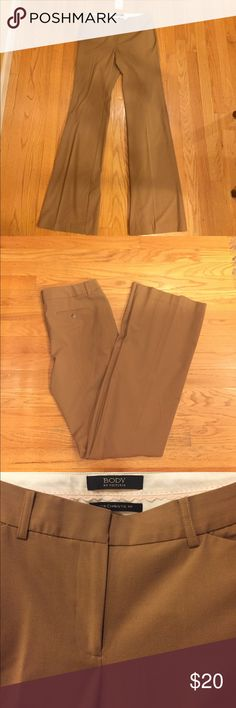 NWOT Body by Victoria brown pants NWOT Body by Victoria brown pants size 8, never worn. Victoria's Secret Pants Trousers