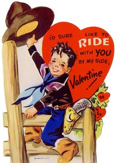 I'd Sure Like To Ride With You... Vintage Valentine