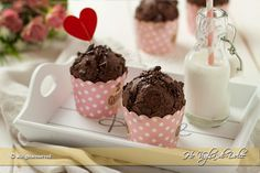 Muffins e Cupcakes Archives - Ho Voglia di Dolce Healthy Cake, Vegan Cake, Dolci Healthy, Chocolate Muffins, Chocolate Recipes, Vegan Yogurt, Plum Cake, Cupcakes, Butter Recipe