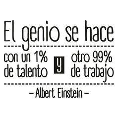 El genio de Einstein