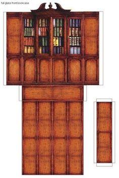 Mini book shelf to print