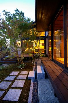 Best Interior Home Design Trends For 2020 - Interior Design Ideas Japanese Architecture, Landscape Architecture, Landscape Design, Garden Design, Japanese Modern, Japanese House, Interior Exterior, Exterior Design, Exterior Paint