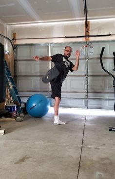 30 Push Ups In A Row Foot Leg Is Feeling Better No So Swollen Need To Do More Icing And Ankle Rotations Later Today N In 2020 Home Gym Ball Exercises Exercise