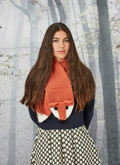 Foxy scarf from Joanie