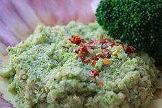 Green goddess quinoa.