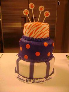 Clemson Cake. Gender reveal?