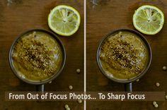 Why Your Food Photo is Not Focused and How to Fix Out of Focus Pictures