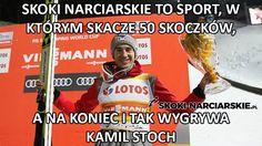 Puchar Świata w Zakopanem – najlepsze memy – Skoki narciarskie online, gry, transmisje na żywo, klasyfikacja Weekend Humor, Ski Jumping, World Cup, Skiing, Have Fun, Lol, Memes, Funny, Sports