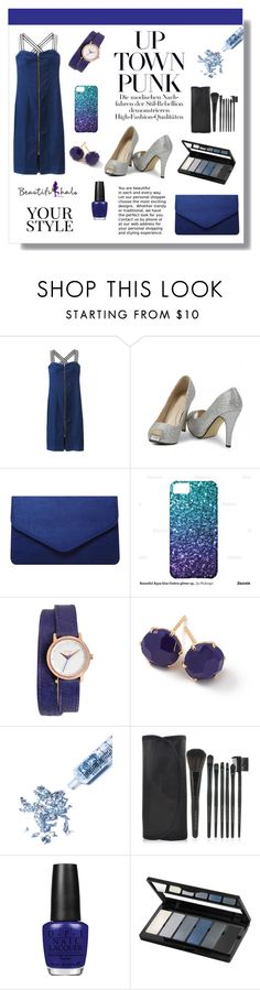 """""""Beautifulhalo 14"""" by mini-kitty ❤ liked on Polyvore featuring Dorothy Perkins, Nixon, Ippolita, Glitter Injections, OPI, Isadora, Pussycat, women's clothing, women's fashion and women"""