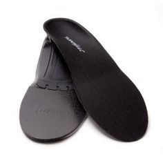 Superfeet Black Premium Insoles are an Orthotic Arch Support for Men, Women, and Children whom have flat feet or low arches.  Also, ideal for a tight-fitting (or minimalist) running shoe.