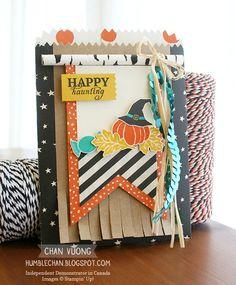 Chan Vuong | Humblechan : Alternate Ideas for Paper Pumpkin September 2015 Kit, Wickedly Sweet Treat