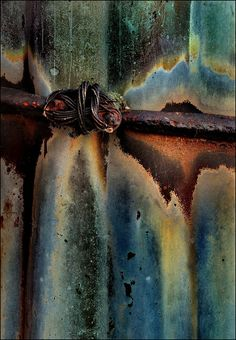create effect w/ Vintaj Patinas: faded pickup | rusted hardware | verdigris | earth | onyx