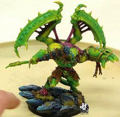 40K Conversion: Nurgle Mantis Pattern Daemon Prince | Warhammer 40k, Fantasy, Wargames & Miniatures News: Bell of Lost Souls