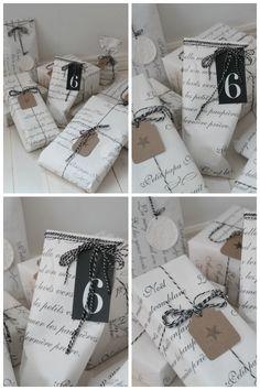 Villaa ja vaniljaa Villa, Wraps, Packing, Gift Wrapping, Christmas, Photos, Gifts, Design, Paper
