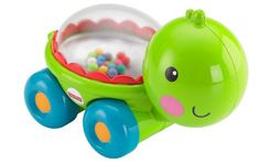 Fisher-Price Poppity Pop Turtle: Meet the perfect crawl-along pal for baby! Push the cute little turtle to make the colorful balls go pop, pop, pop as it rolls along. Exciting action and sounds encourage baby to push and crawl along, again and again. Baby Boy Toys, Toddler Toys, Baby Car, Brinquedos Fisher Price, Jouets Fisher Price, Fisher Price Baby Toys, Walmart, Developmental Toys, Pull Toy