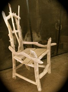 Driftwood Child's Chair by SantaFeRustic on Etsy, $165.00
