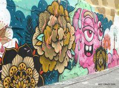 street art bushwick collective new york brooklyn nyccrazygirl New York Street Art, Street Art News, Graffiti, Ville New York, Crazy Girls, New Art, Brooklyn, Photos, Prints
