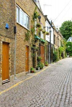 Mews houses, London