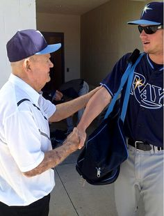 Tampa Bay Rays - Zim is in camp!
