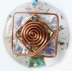 Espiral, rombo, cuadrado