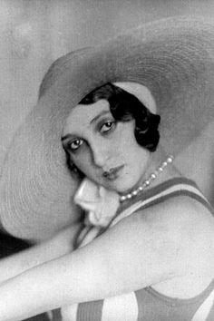 by Jacques-Henri Lartigue, Renée Perle, 1930,