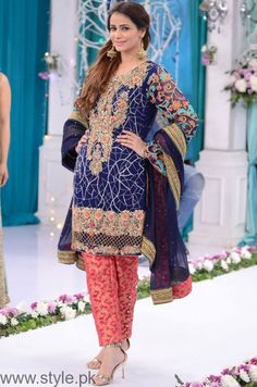 Trendy Dresses at Good Morning Pakistan Show