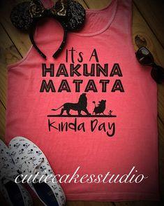 Disney shirt tank mickey Tank top Tshirt disney world vacation shirt animal kingdom shirt comfort colors hakuna matata lion king shirt