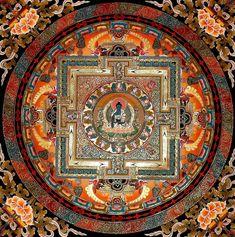 Gyógyító Buddha mandalája
