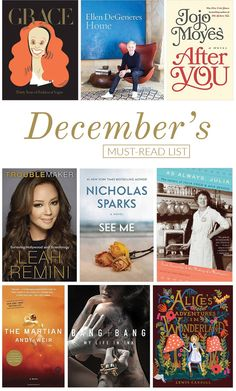 The books we're cozying up on the couch with this month...