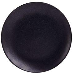 SAMURAI Teller    Dunkel wie Granit und klar in der Form strahlt das matte Samurai-Geschirr kraftvolle Gelassenheit aus - und lässt sich dabei sowohl ganz schlicht dekorieren, als auch mit Farben, Blumen und verspielten Elementen kombinieren. Die Serie umfasst, auf das Wesentliche reduziert, Teller in zwei Größen, eine Schale, eine Schüssel und eine Tasse - alles aus Keramik.    Größe: Ø 27 cm ...