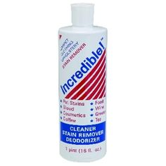Stain Remover, Upholstry Cleaner, Incredible Cleaner, Spring Cleaning, Household cleaner. Best cleaner ever!