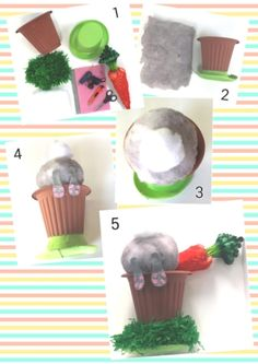 DIY fluffy Easter Bunny Hat. This was very easy & low cost using only 6 materials all available from Bunnings & our Online Store. #Easter #Easterhat #Easterbonnet