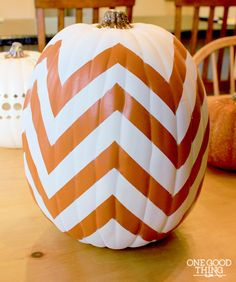 5 Simple DIY Pumpkins You Can Enjoy Year After Year! | One Good Thing by Jillee
