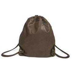 Sackpack Palermitano Dark Brown | Roque Bags | Wolf & Badger