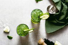 Matcha Mojito—Healthy Summer Cocktail Recipe - mindbodygreen
