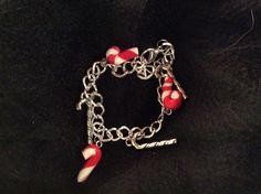 Bracelet breloques sucres d'orge Noel : Bracelet par wendylafeedesbijoux