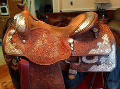 Phil Harris Leather, Western Show Saddle