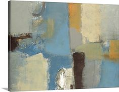 Lisa Ridgers Solid-Faced Canvas Print Wall Art Print entitled Composure, None Big Canvas Art, Abstract Canvas Art, Canvas Art Prints, Painting Prints, Canvas Wall Art, Framed Prints, Abstract Paintings, Watercolor Paintings, Art For Art Sake