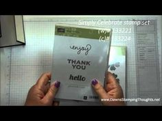 Gate Fold card video Flower shop stamp set and Pansy  punch with Modern Medley designer paper . Thanks for watching :)