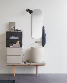 Toiletskabe til badeværelset | Badmøbler til det lille badeværelse | BO BEDRE | Bobedre.dk