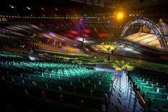Inside Philippine Arena.
