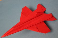 How to make a cool paper plane origami: instruction Paper Airplane Folding, Origami Paper Plane, Origami Airplane, Origami Swan, Origami Yoda, Origami Dragon, Origami Fish, Paper Crafts Origami, Origami Helicopter