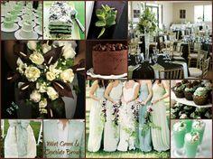 Mint Green and Chocolate Brown Wedding | Wedding Stuff | Pinterest ...