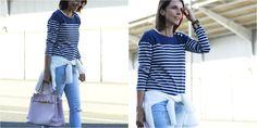 Cómo combinar una camiseta navy, ¡una idea genial!