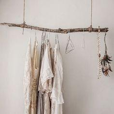 Natural Birch Branch Rustic curtain rod Driftwood Curtain Rod | Etsy Cheap Home Decor, Diy Home Decor, Rustic Closet, Deco Boheme Chic, Diy Casa, Ideas Para Organizar, My New Room, Sweet Home, Bedroom Decor