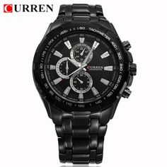 bd29f504dd6 Curren Mens Watches Top Brand Luxury Men Quartz Sports Watches Military  Wrist Watches Casual Full Steel Watch Waterproof Relogio - Online Shopping  for ...