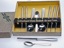 Cutlery - West German Cutlery - Eichenlaub Cutlery - Eichenlaub New Form Cutlery - Eichenlaub Die Neue Form Cutlery