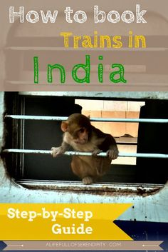 How to book trains / train tickets in India - Step-by-Step Guide. Everyone who has travelled to India would probably tell you that for a real Indian Adventure, you gotta travel by Train. They are cheap, comfortable and you get to meet locals. Travel Blog, Travel Advice, Travel Guides, Travel Tips, Travel Destinations, Travel Hacks, Holiday Destinations, Budget Travel, India Travel Guide